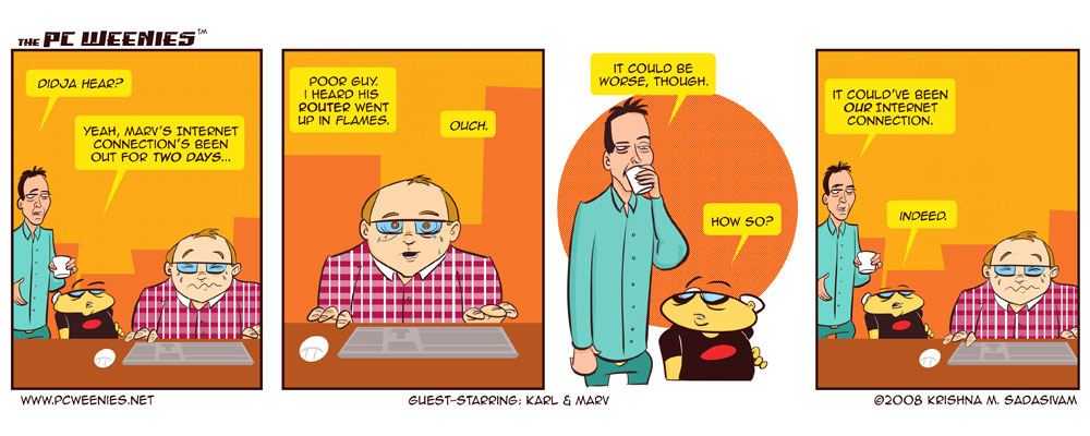 Guest-Stars: Karl and Marv