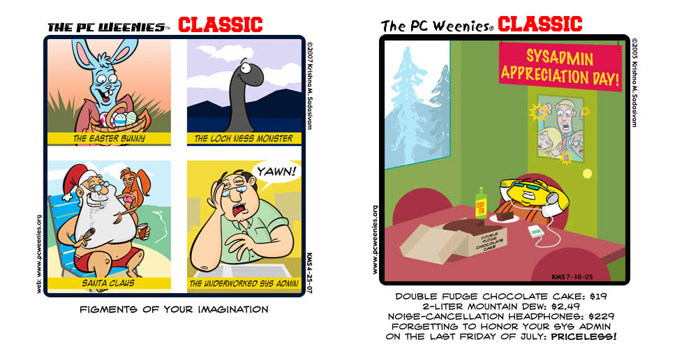 PCW Classic: SysAdmin Edition!