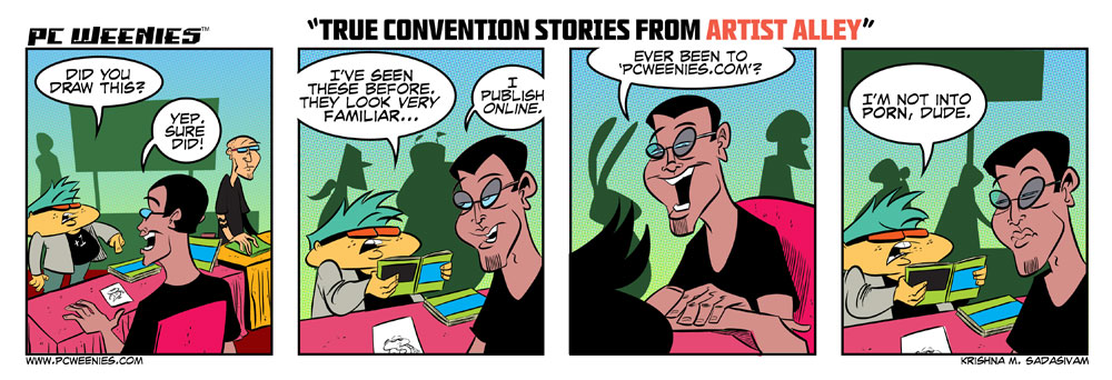 True Stories from Comic Conventions: Part 2