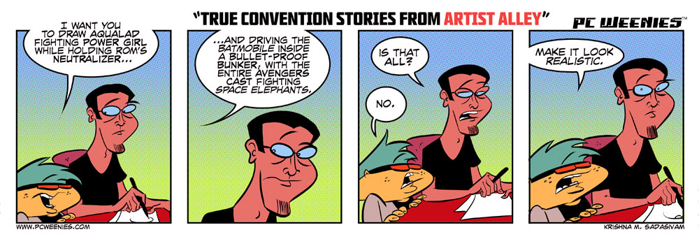 True Stories from Comic Conventions: Part 3