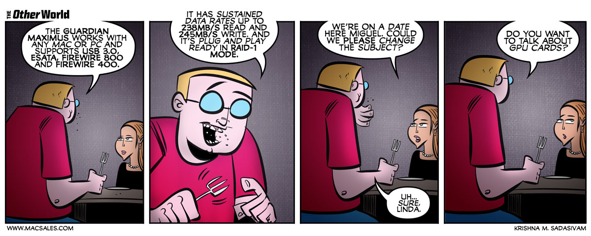 On Dates and Tech Talk