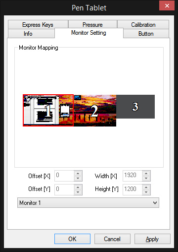 monitor mapping 1