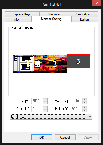 monitor mapping 3