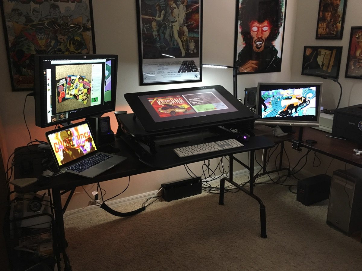 Below Is A Photo Of My Desk With The M2 Fully Integrated Workstation