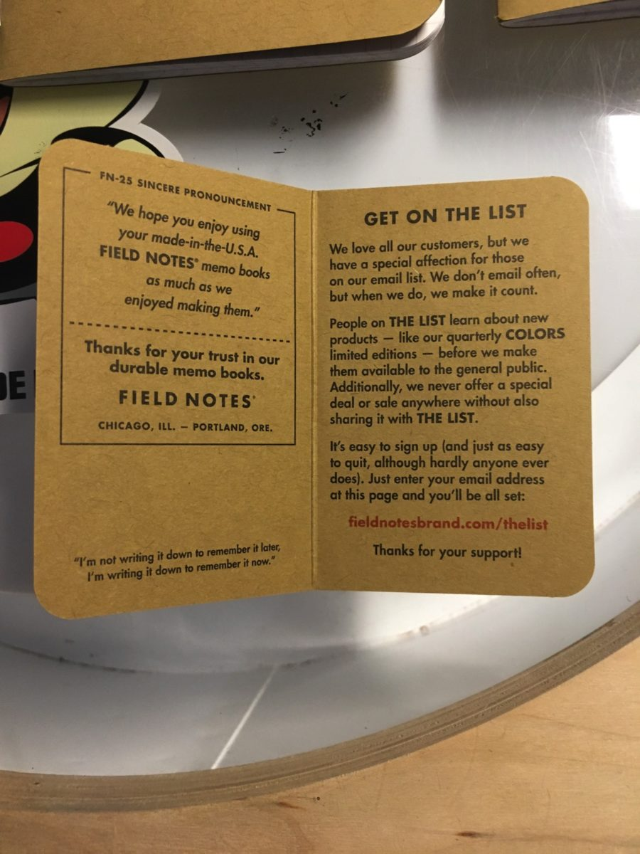 Field Notes Coupon & Promo Codes