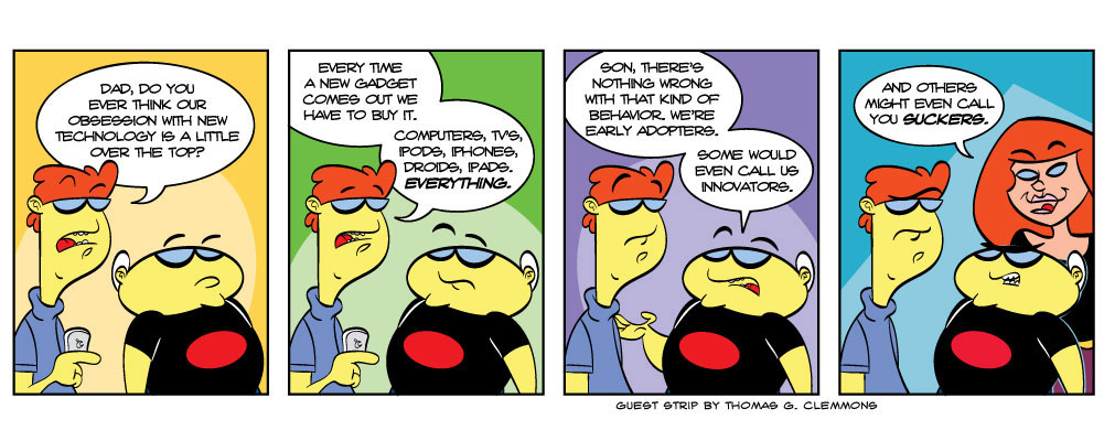 Guest-Strip by Thomas Clemmons