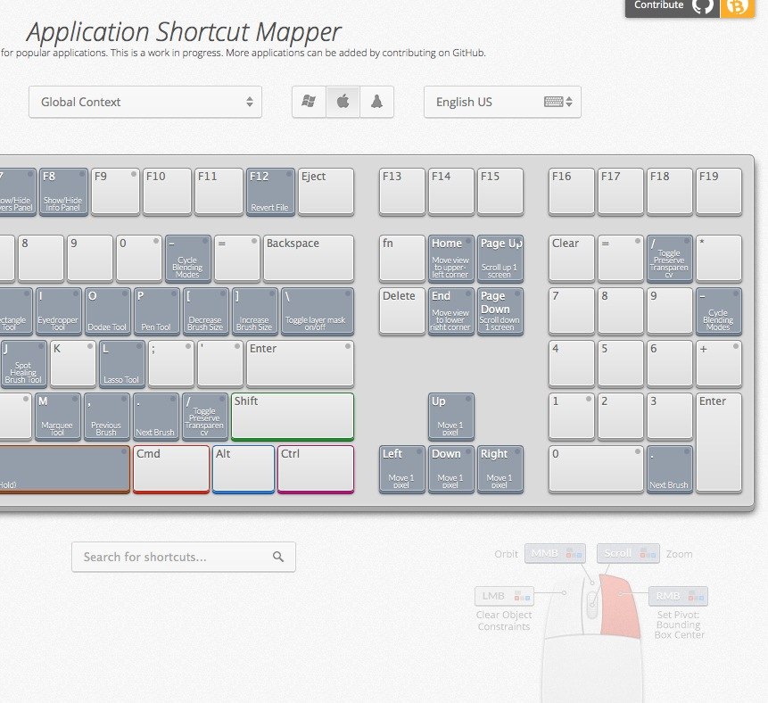 keyboardshortcutmapper